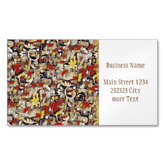 My Fantasy World 38 Magnetic Business Cards