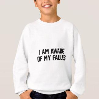 My Faults Sweatshirt