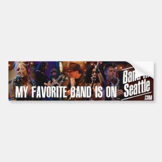 My Favorite Band Bumper Sticker