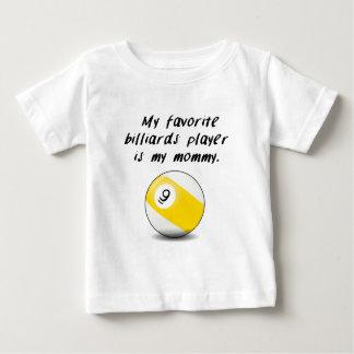 My Favorite Billiards Player (Nine Ball) Is My Mom Baby T-Shirt