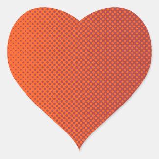 My Favorite color Melon Heart Sticker