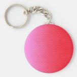 My Favorite color rosa -Rojo Llavero Personalizado