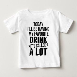 My Favorite Drink. Baby T-Shirt