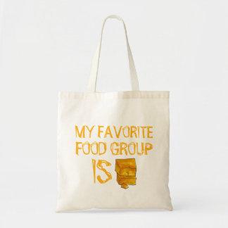 My Favorite Food Group Is Cheese Tote Bag