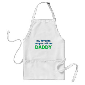 my favorite people call me daddy standard apron