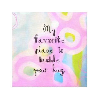 My Favorite Place Canvas Print