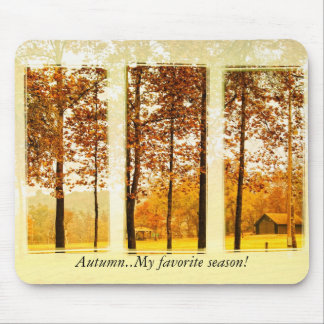 My favorite season! mouse pad