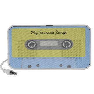 My Favorite Songs Audio Cassette Tape Doodle Speak Mini Speakers