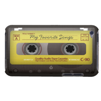 My Favorite Songs Cassette Tape Case Cover