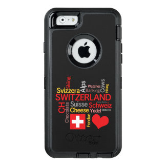 My Favorite Swiss Things Funny OtterBox iPhone 6/6s Case