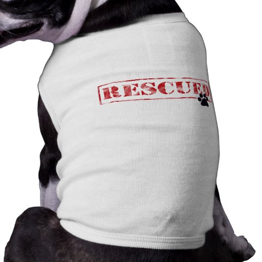 My Favourite Breed Is Rescued Sleeveless Dog Shirt