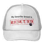 My Favourite Breed Is Rescued Trucker Hat