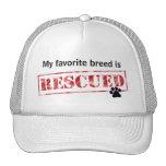 My Favourite Breed Is Rescued Trucker Hat