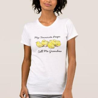 My Favourite Peeps Call Me Nana Grandma Shirt