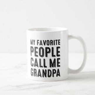 My Favourite People Call Me Grandpa Mug
