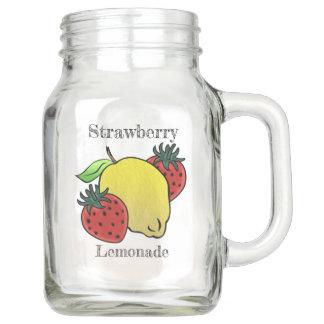 My Favourite Strawberry Lemonade (Personalised) Mason Jar