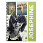 My favourite things green photo collage journal
