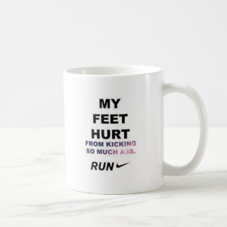 My feet heart MUG