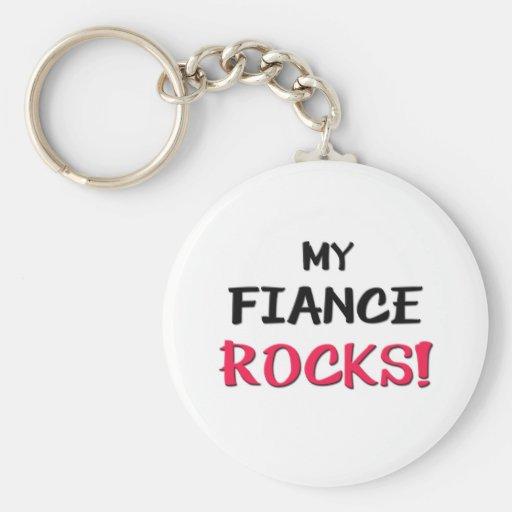My Fiance Rocks Key Chains