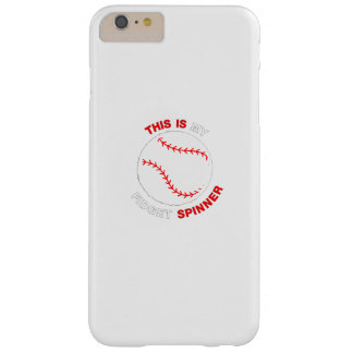 My Fidget Spinner Softball Baseball funny Gift Barely There iPhone 6 Plus Case