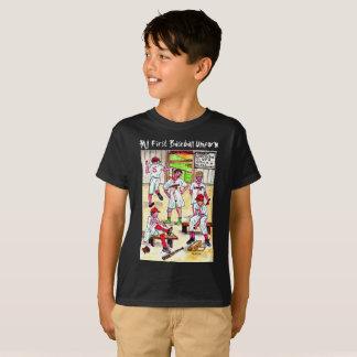 My First Baseball Uniform T-Shirt