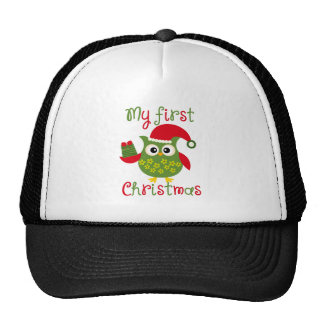 My First Christmas Mesh Hat
