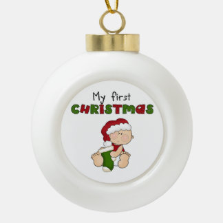 My First  Christmas Ornament -New Baby Baby's 1st