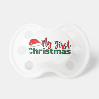 My First Christmas Pacifier