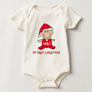 My First Christmas Tshirt to Customize