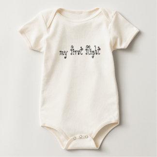 my first flight baby bodysuit