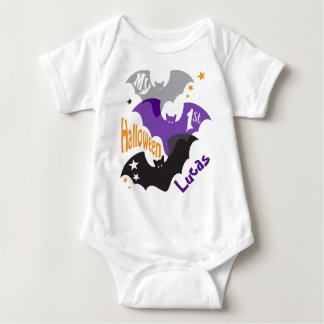 My First Halloween BAT Creeper for Baby
