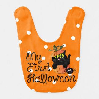 My First Halloween Bib