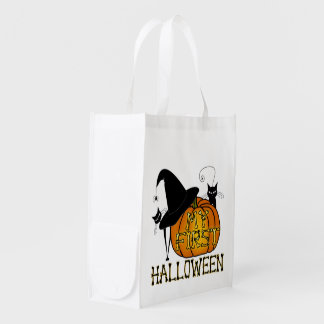 """""""My First Halloween"""" Trick-Or-Treat! Grocery Bag"""