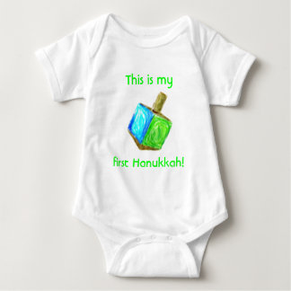 My first Hanukkah Baby Bodysuit