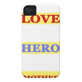 My First Love My First Hero Always My Mother iPhone 4 Case-Mate Case