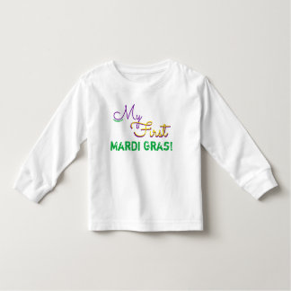 My first Mardi Gras Shirt