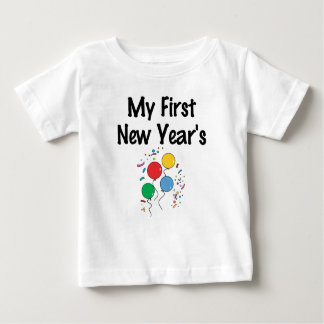 My First New Year's Baby T-Shirt