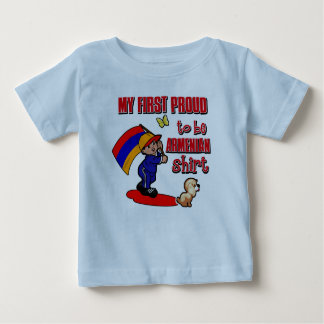 My First Proud To Be Armenian Shirt