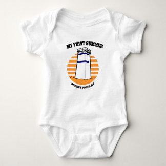 My First Summer Breezy Point, New York Baby Bodysuit