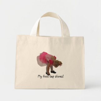 My first tap shoes! mini tote bag