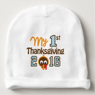 My First Thanksgiving Baby Boy Beanie Turkey Hat Baby Beanie