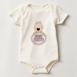 My first tooth baby bodysuit