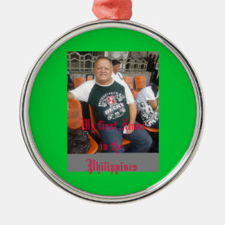 My First Xmas in the Philippines Xmas ornament