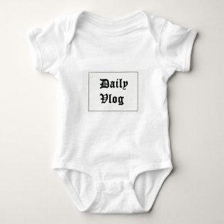 My first YouTube merch Baby Bodysuit
