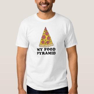 My Food Pyramid Tee Shirt