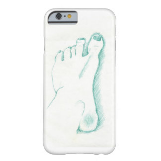 My foot barely there iPhone 6 case
