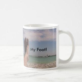 My Foot! Basic White Mug