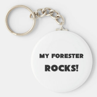 MY Forester ROCKS! Keychains