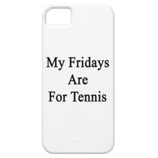 My Fridays Are For Tennis iPhone 5 Cases