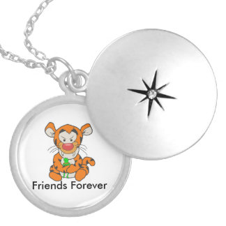 My Friend- Friends Forever Round Locket Necklace